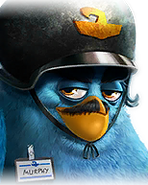 Flocker Blue Portrait 035