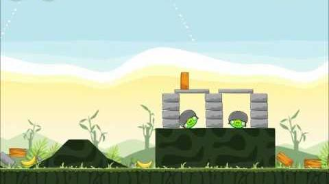 Official Angry Birds Walkthrough Poached Eggs 2-19