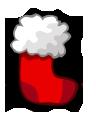 Новогодний носок