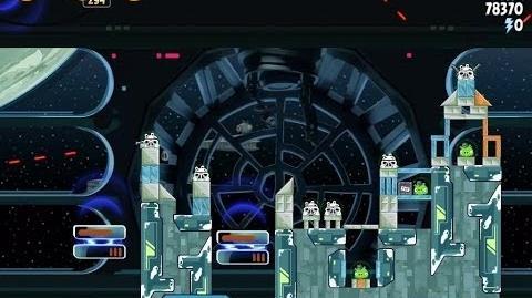 Death Star 2 6-22 (Angry Birds Star Wars)/Video Walkthrough