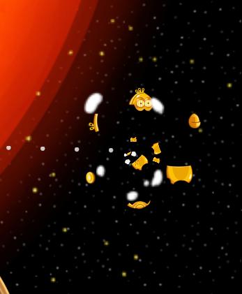 Broken White Bird Star Wars