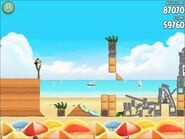 Official Angry Birds Rio Walkthrough Beach Volley 6-4