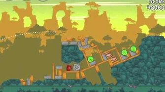 Angry Birds 23-13 Bad Piggies 3 Star Walkthrough (Angry Birds Classic 23-13)