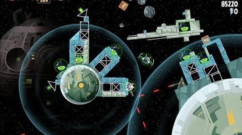 Death Star 2 6-12 (Angry Birds Star Wars)/Video Walkthrough