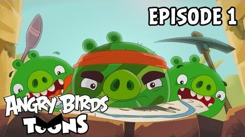 Angry Birds Toons Treasure Hunt - S2 Ep1