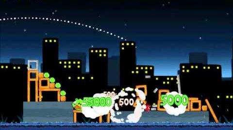 Official Angry Birds Walkthrough Danger Above 7-9