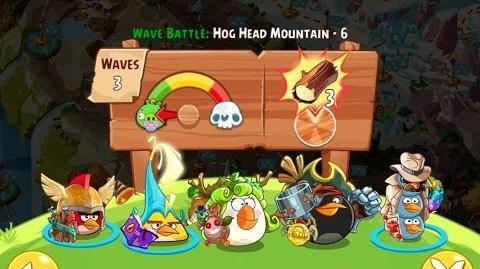 Angry Birds Epic Hog Head Mountain Level 6 Walkthrough