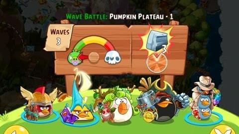 Angry Birds Epic Pumpkin Plateau Level 1 Walkthrough