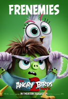 Angry Birds Movie 2 Frenemies Poster 04