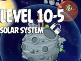 Solar System 10-5 (Angry Birds Space)