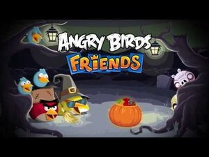 NEW! Angry Birds Friends Halloween Tournament