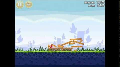 Angry Birds Poached Eggs 1-1 Walkthrough 3 Star