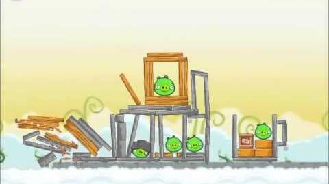 Official Angry Birds Walkthrough Danger Above 8-4