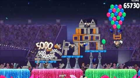 Official Angry Birds Rio Walkthrough Carnival Upheaval 7-9
