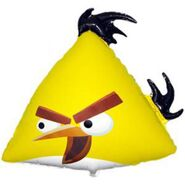 Желтая птица шар