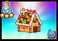 Angry Birds Fight- Gingerbread House
