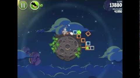 Angry Birds Space Pig Bang 1-13 Walkthrough 3-star