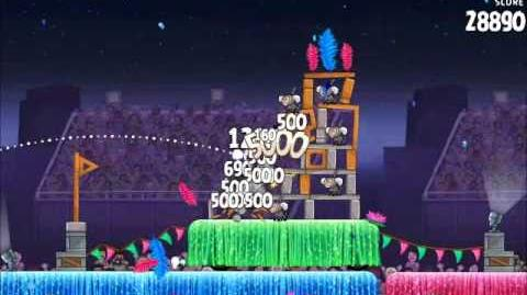 Official Angry Birds Rio Walkthrough Carnival Upheaval 7-1