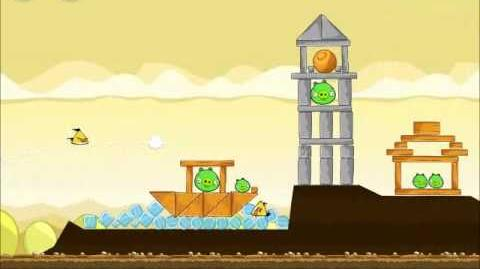 Official Angry Birds Walkthrough Mighty Hoax 5-7