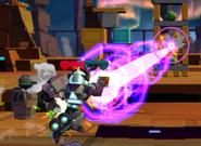 Energic Galvatron Attacking