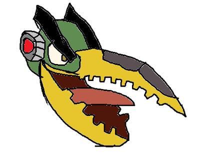 Hal as Grimlock
