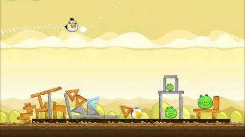 Official Angry Birds Walkthrough Mighty Hoax 5-1