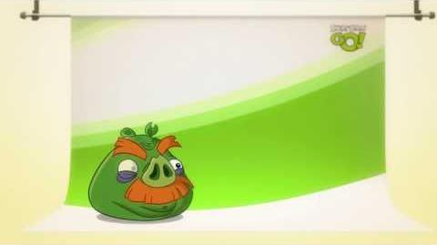 Angry Birds Go! character reveals Moustache Pig