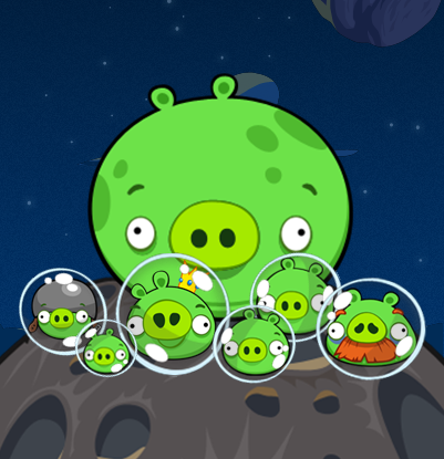 Imagen space pigsg angry birds wiki fandom powered by wikia archivospace pigsg voltagebd Images