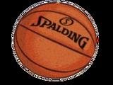 Гигантский баскетбольный мяч