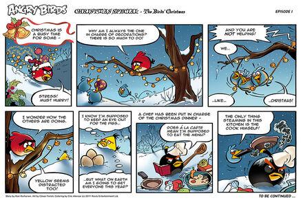 Christmas Comics.Christmas Comic Angry Birds Wiki Fandom Powered By Wikia