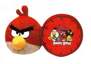 Angry-birds-red-bird-clock