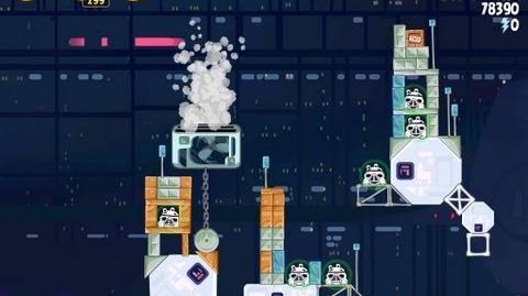 Cloud City 4-31 (Angry Birds Star Wars)/Video Walkthrough