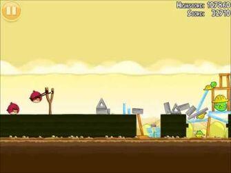 Official Angry Birds Walkthrough The Big Setup 11-2
