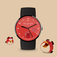 Poster Red - Watch Face