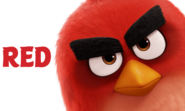 Red Angry Birds Movie Character