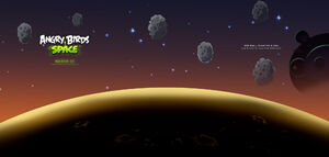 Space twitter background