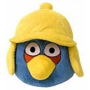 Игрушка зимней синей птицы