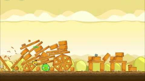 Official Angry Birds Walkthrough Mighty Hoax 5-4