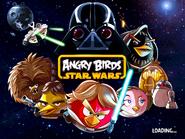 Angry Birds Star Wars (экран загрузки)