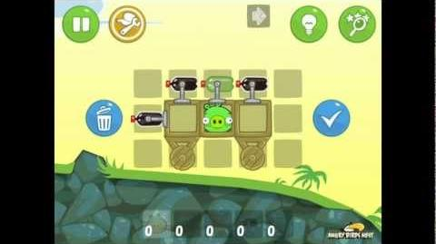 Bad Piggies Ground Hog Day 1-12 Walkthrough 3 Star