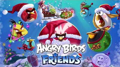 Angry Birds Friends Holidays 2017 Santa Coal & Candy Claus