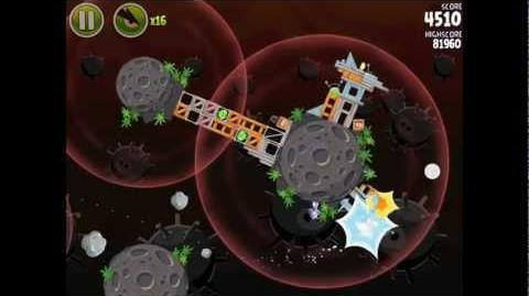 Danger Zone D-3 (Angry Birds Space)