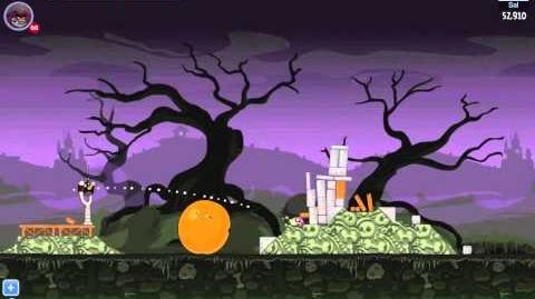 Angry Birds Friends Halloween Tournament Level 1 Day 1 Week 24 - Highscore 90,910 - Facebook-0