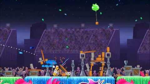 Official Angry Birds Rio Walkthrough Carnival Upheaval 8-1