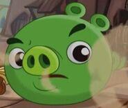 Свинёнок в недоумении