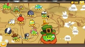 Angry Birds Seasons The Pig Days All levels part 3
