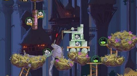 Moon of Endor 5-11 (Angry Birds Star Wars)/Video Walkthrough