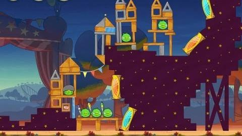 Angry Birds Seasons Abra-ca-Bacon 1-4 Walkthrough 3-Star