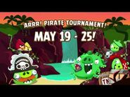 NEW! Angry Birds Friends - Pirate Tournament gameplay trailer