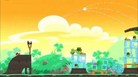Official Angry Birds Seasons Walkthrough Go Green, Get Lucky 1-7